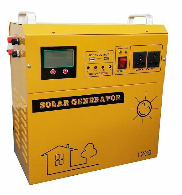 پکیج خورشیدی مدل SHS-1265
